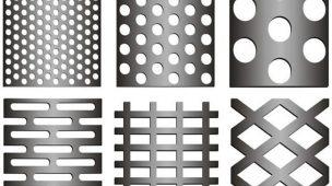 Chapas perfuradas: conheça os tipos de furos e suas aplicações