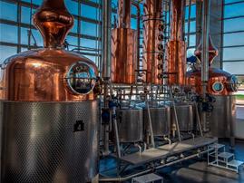 Chapa Recalcada para Destiladoras